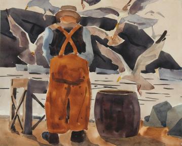 Monhegan Fisherman