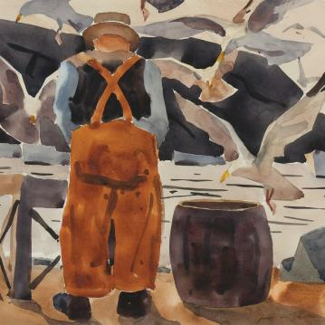Monhegan Fisherman