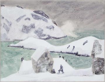 Monhegan in Winter